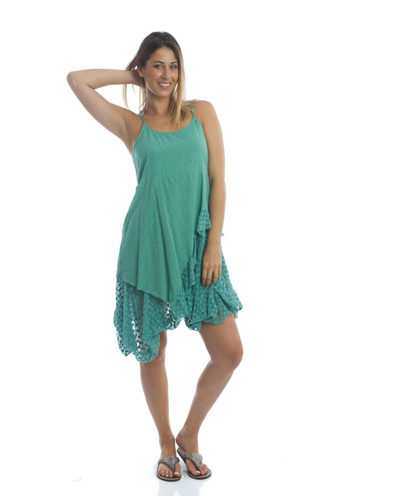 DRESS ST TROPEZ N°18 BLUE