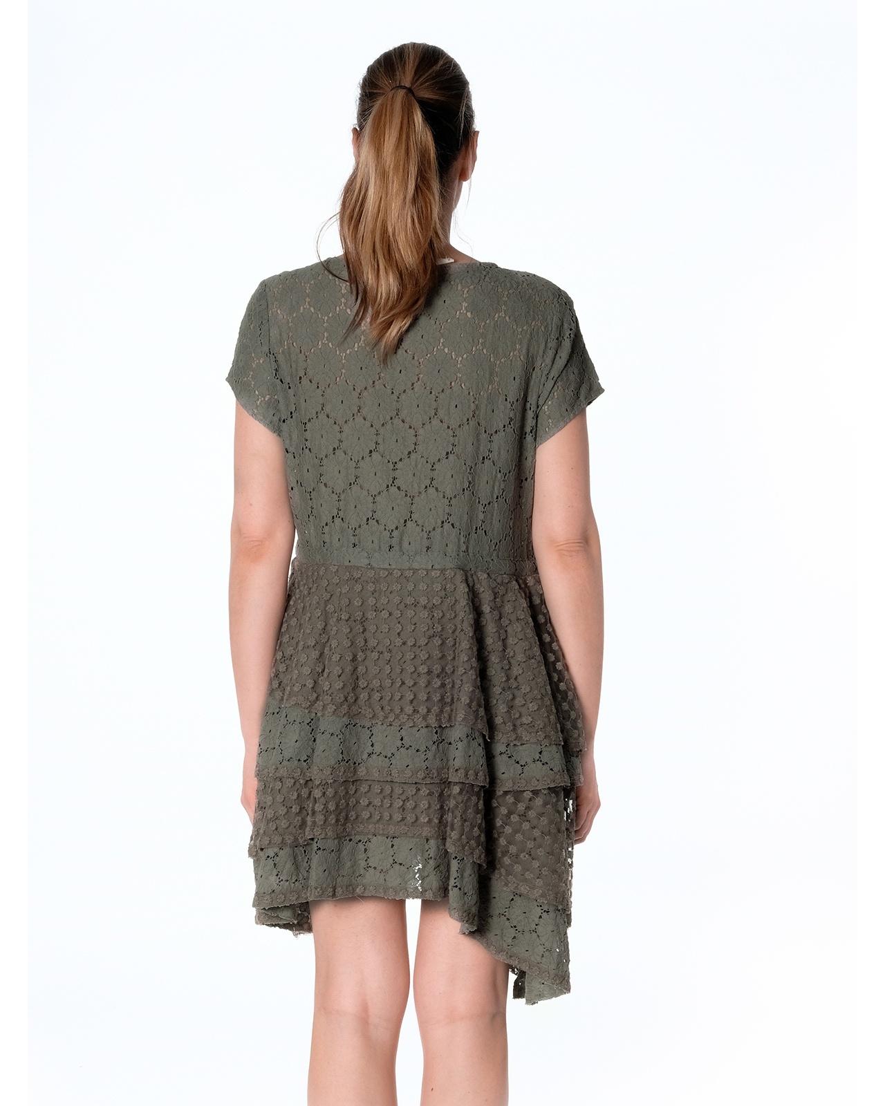 DRESS ANTIBES N°43 KAKI