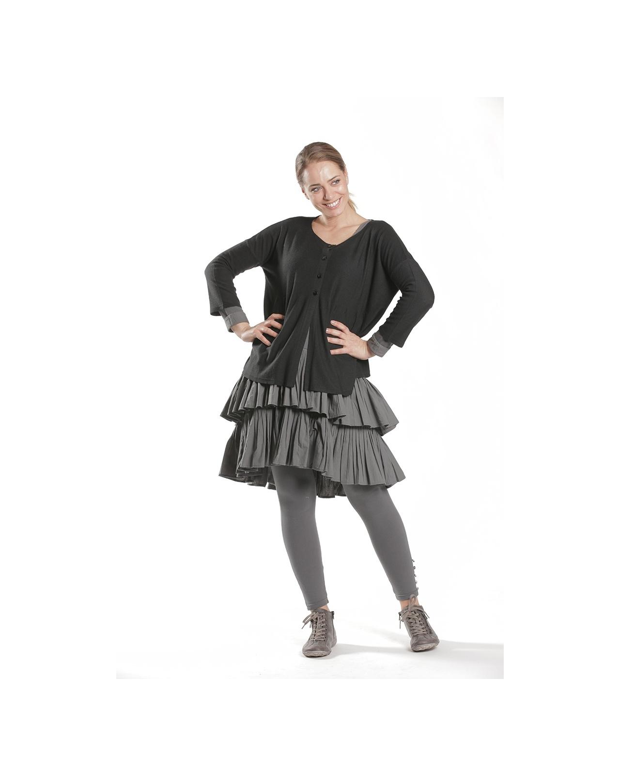 DRESS FLORENTIN N°61 GRAY