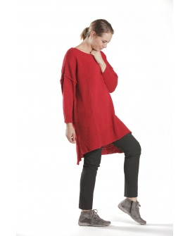 PULL VIENNOIS ROUGE