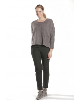 PULL EXPRESSO GRIS