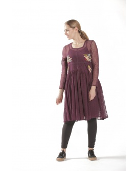 ROBE CHARDON N°13 PRUNE