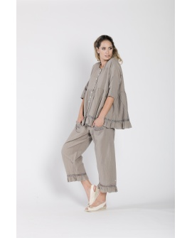 Blouse Jean N°74 Taupe