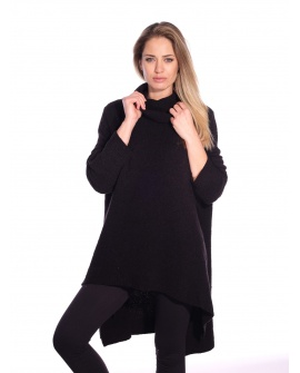 Pull Long Cannelle Noir