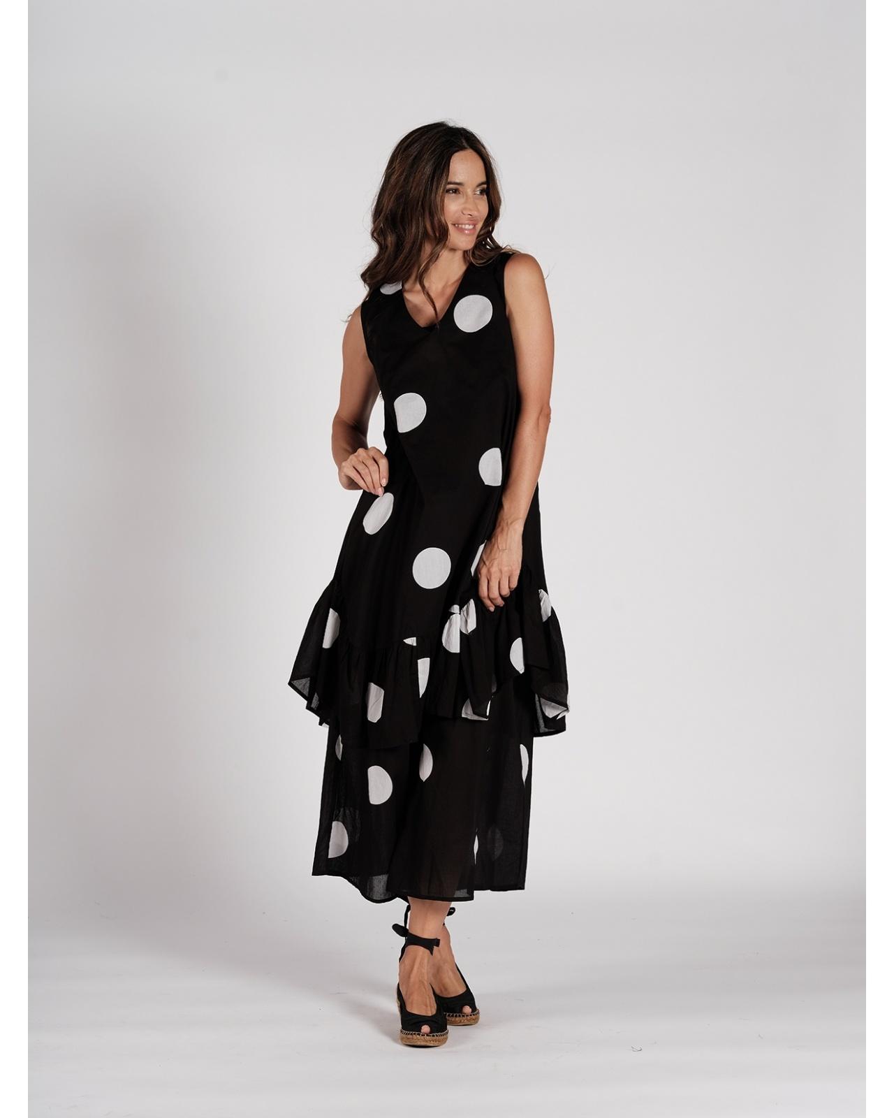 DRESS MONT VENTOUX N°39 BLACK/WHITE