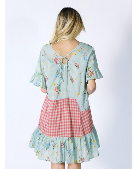 SHORT DRESS AZUR N°102