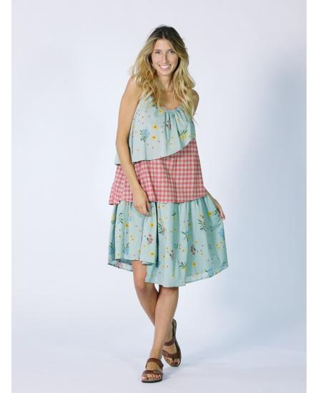 SHORT DRESS AZUR N°104