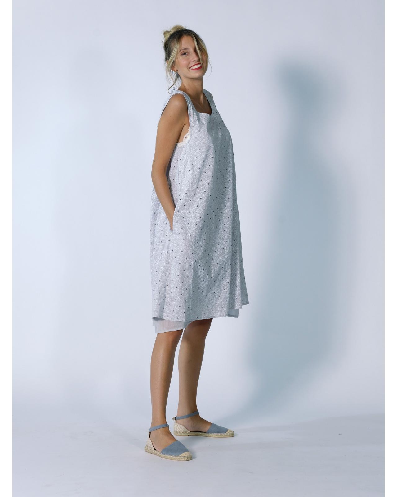SHORT DRESS MISTRAL N°70 GRAY