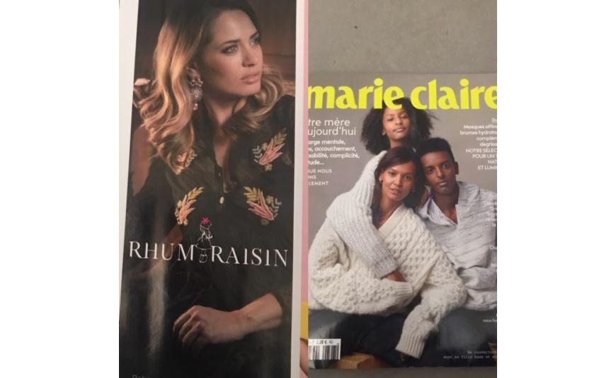 Parution Décembre 2018 Marie Claire